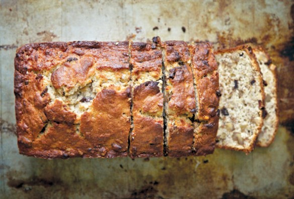 Chocolate Bourbon-Spiked Banana Bread Recipe