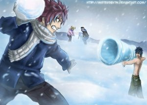 fairy_tail___snowball_fight_____by_mistersev7n-d5p4ng3