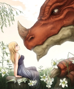 the_princess_and_the_dragon_by_yoriru-d7fw2by