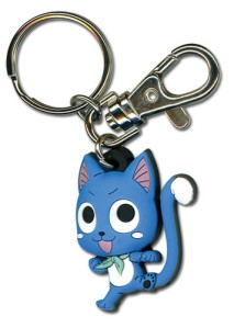Let Happy keep your keys safe with a punch and kick. You can buy your Happy Keychain for $4.68 from Crunchyroll.com. Click to order.