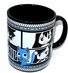 Have your morning coffee with chibi fairy tail members. You can pre-order your coffee cup for $11.99 from circlered.com. Click to order.