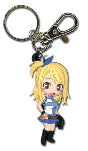Grab up this cute Lucy Keychain for $4.68 from Crunchyroll.com. Click to Order.