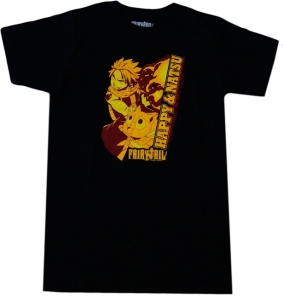 Get this Natsu & Happy shirt for $15.99 from circlered.com. Click to order.