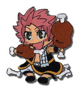 Have Natsu eat lunch with you everyday. Get your Natsu patch for $3.99 from circlered.com