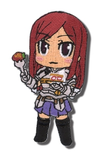 Have Erza eating her favorite cake all the time. Get this Erza eating cake patch for $3.99 form circlered.com,